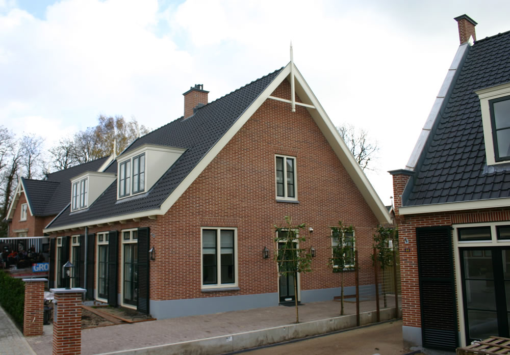 Bouwbedrijf vlot bv nieuwbouwproject botterstraat in huizen for Bouwbedrijf huizen